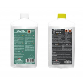 Botellas gel ETANOL .(840gr)