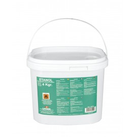 Cubo gel combustible ETANOL.(4Kg)