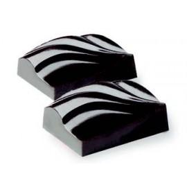 Moldes para fazer chocolate ondulado chocolate.