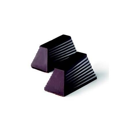 Molde bombón forma de prisma, pirámide truncada.