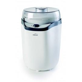 Máquina caseira de fabricação de iogurte.