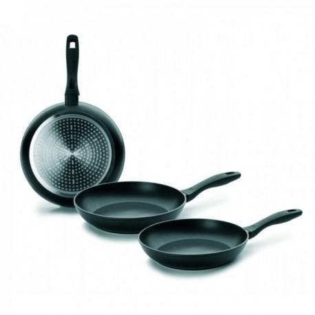 Lote 3 sartenes Chef Style Aluminio Fundido