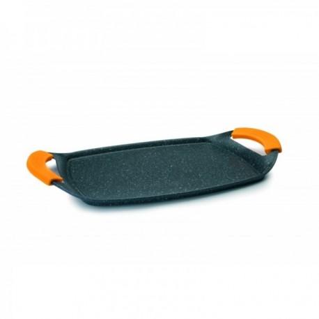 Grill-Plancha liso 47x29 cm especial Vitro/Inducción