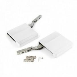 Compás para puerta elevable Agile (580 - 1250) Blanco