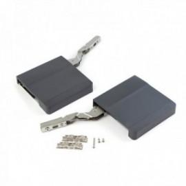 Compás para puerta elevable Agile (580 - 1250) Gris antracita