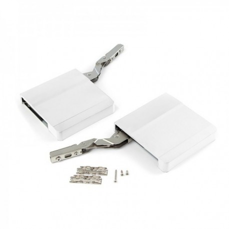 Compás para puerta elevable Agile (1800 - 3500) Blanco