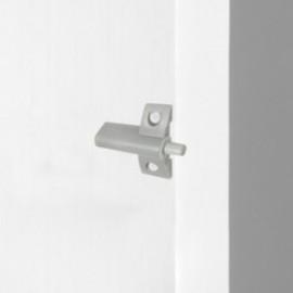10 unidades (-) Pistão de amortecimento para porta articulada Minidamp2 Cinza