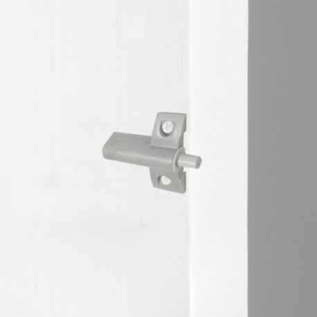 10 unidadess (-) de Pistón amortiguador para puerta abisagrada Minidamp2 Gris
