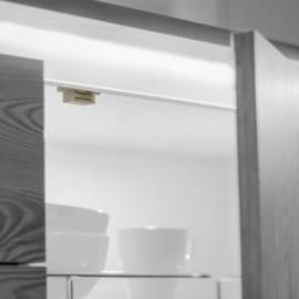 20 unidadess (-) de Cierre magnético para puertas Blanco