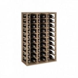 Garrafa de madeira de pinheiro para 60 garrafas para 60 garrafas cor Natural Carvalho GODELLO