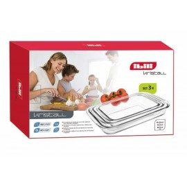 Set Fuentes horno rectangulares