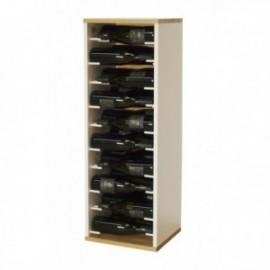 Botellero de madera para 30 botellas