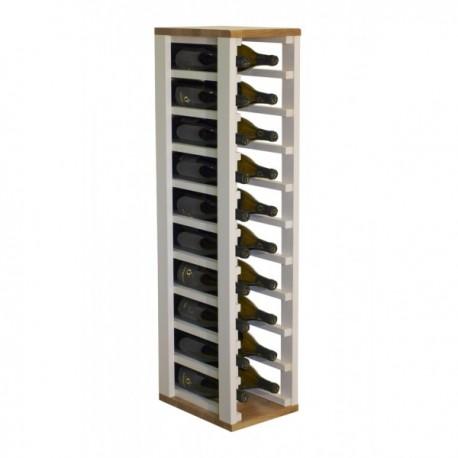 Botellero de madera para 20 botellas