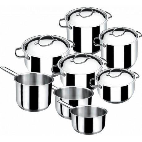 Bater a cocina basic lacor bater as de cocina induccion - Baterias de cocina para induccion ...