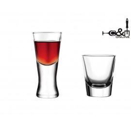 Vasos chupito Boston Shots