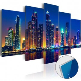 Quadro acrílico - Nights in Dubai [Glass]