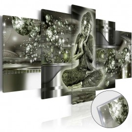Cuadro acrílico - Emerald Buddha [Glass]