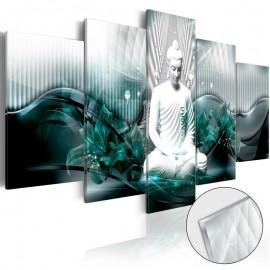Cuadro acrílico - Azure Meditation [Glass]