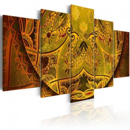 Cuadro - Mandala: Energía de oro