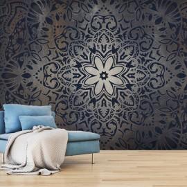 Papel de parede autocolante - Iron Flowers