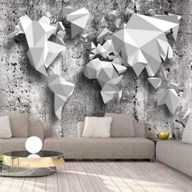 Fotomural autoadhesivo - World Map: Origami