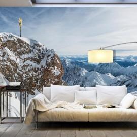 Papel de parede autocolante - Winter in Zugspitze