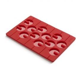 Molde piruletas 3d rojo