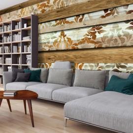 Papel de parede autocolante - Wooden Elegance