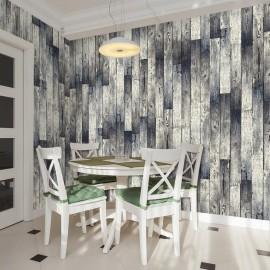 Fotomural - Wooden floor: gradient
