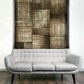 Fotomural - Mosaico de latón