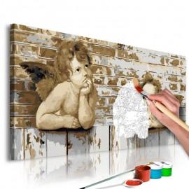 Quadro pintado por você - Raphael's Angels
