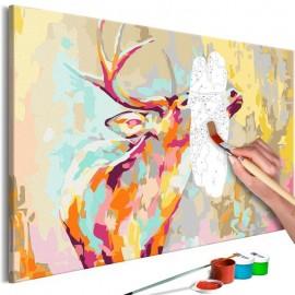 Quadro pintado por você - Proud Deer
