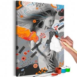 Quadro pintado por você - Wind in Hair