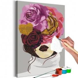 Quadro pintado por você - Covered Eyes