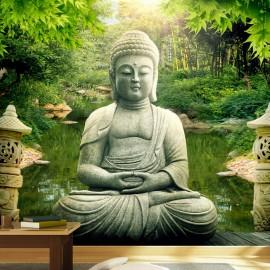 Papel de parede autocolante - Buddha's garden