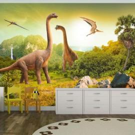Fotomural autoadhesivo - Dinosaurios