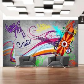 Papel de parede autocolante - Skateboard