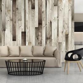 Fotomural - Suelo de madera