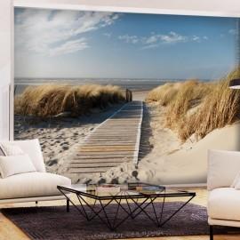 Papel de parede autocolante - Lonely Beach