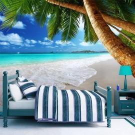 Papel de parede autocolante - Tropical island