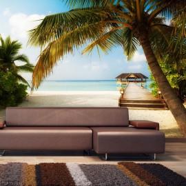 Fotomural autoadhesivo - Playa paradisíaca