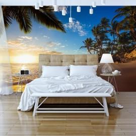 Papel de parede autocolante - Tropical Beach