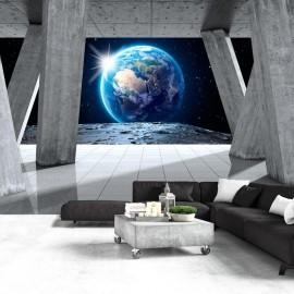 Papel de parede autocolante - View From the Moon
