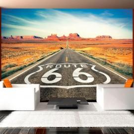 Papel de parede autocolante - Route 66