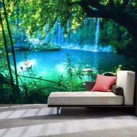 Fotomural autoadhesivo - Kursunlu Waterfalls (Antalya, Turkey)