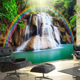Papel de parede autocolante - Waterfall of Fulfilled Wishes
