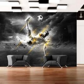 Fotomural autoadhesivo - La leyenda del fútbol