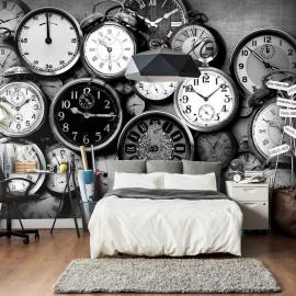 Fotomural - Retro Clocks