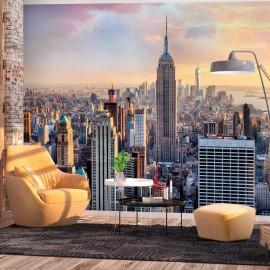 Papel de parede autocolante - Sunny Metropolis