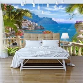 Papel de parede autocolante - Mediterranean Paradise